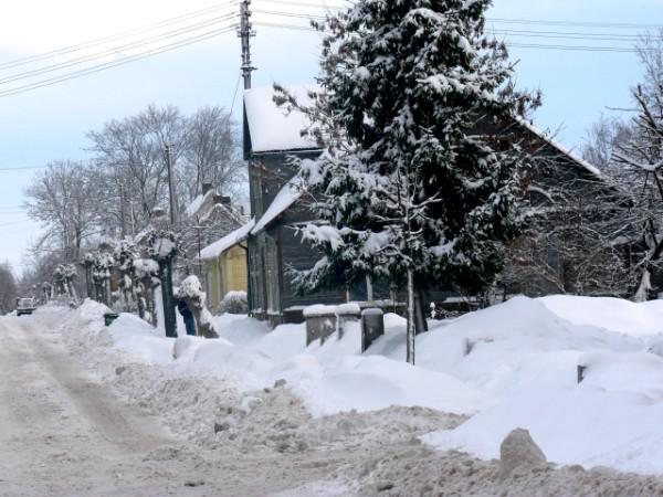 Gatvė žiema