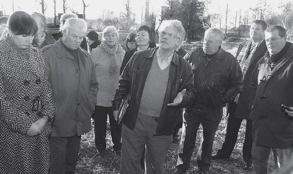 Joniškėlio krašto bendruomenių asociacijos prezidentas Juozas Bagdonas ryžtingai gynė kaimo gyventojų poziciją.