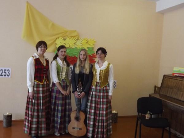 Jaunosios kompozicijos Lietuvai dalyvės