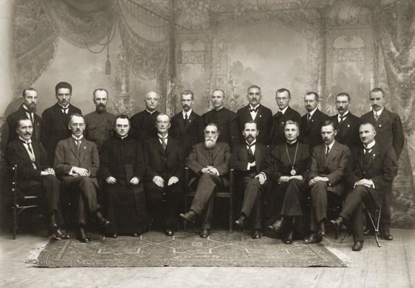 Lietuvos nepriklausomybės akto signatarai