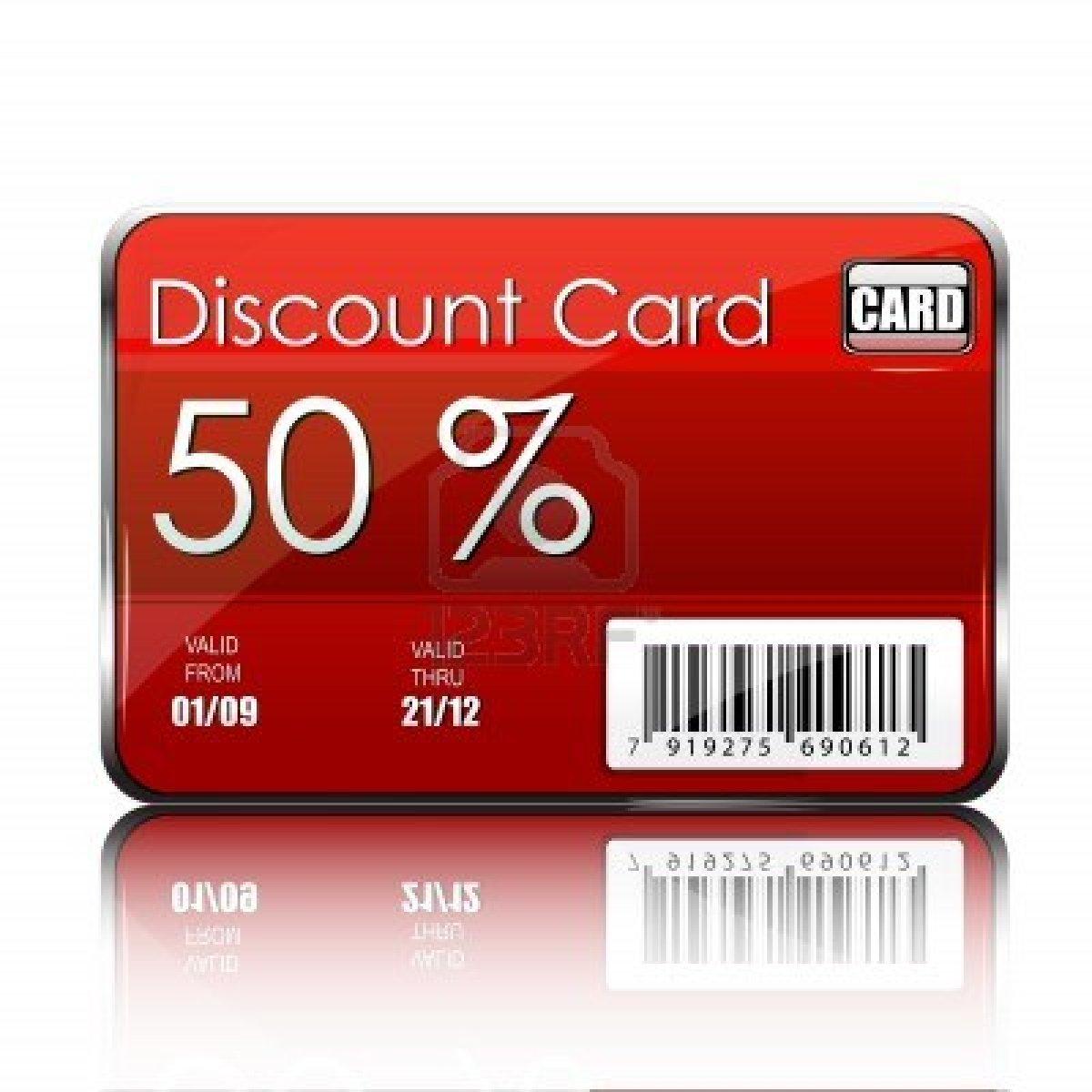 nuolaidų kortelė