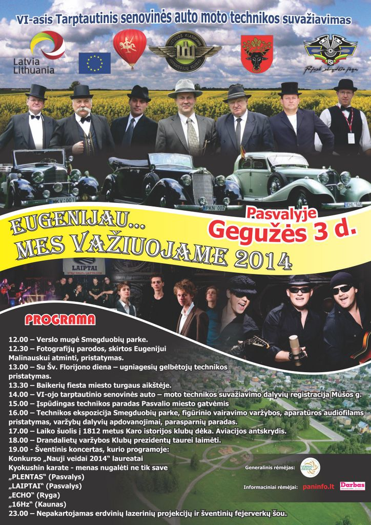 MV 2014 plakatas +