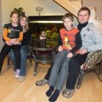 Šeima, suradusi laimingo gyvenimo receptą