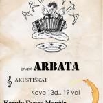 """Grupė """"ARBATA"""" Karpių dvare"""