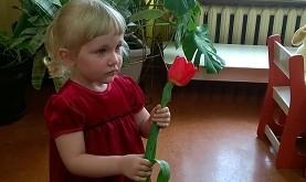 7. Mažiausia šventės lankytoja Ema