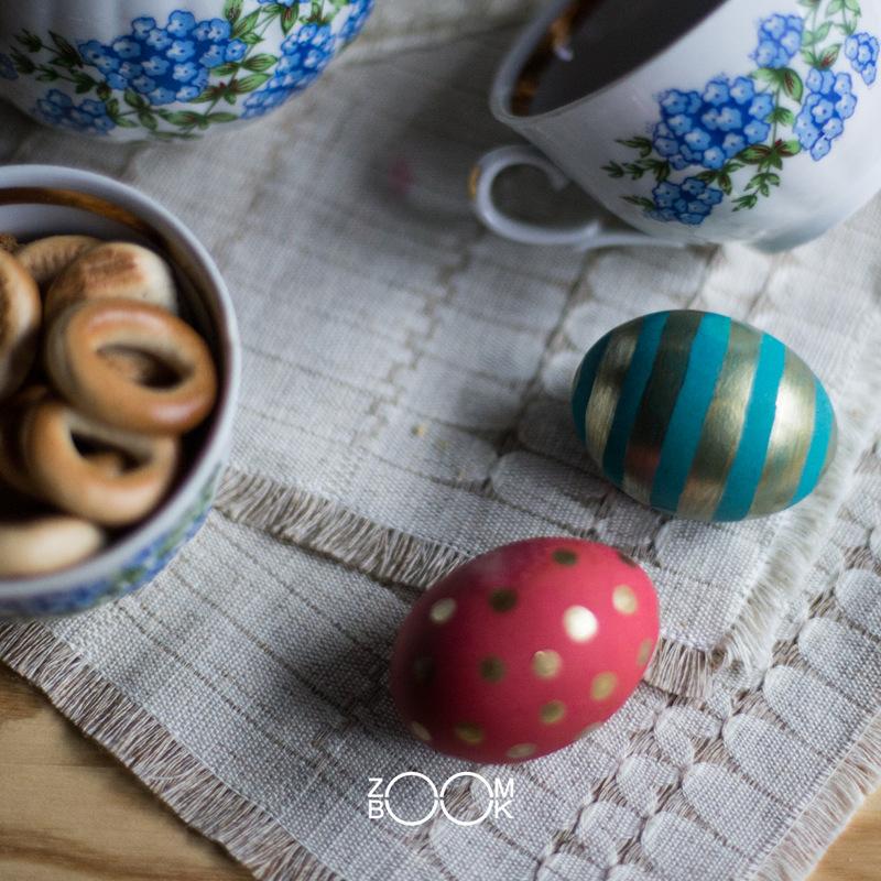 Idėja nr. 1 - Paauksuoti kiaušiniai
