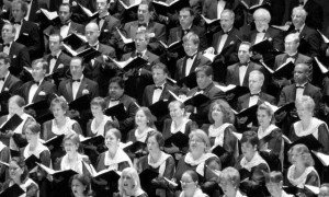 Houston Symphony - Symphony Chorus onstage and in house