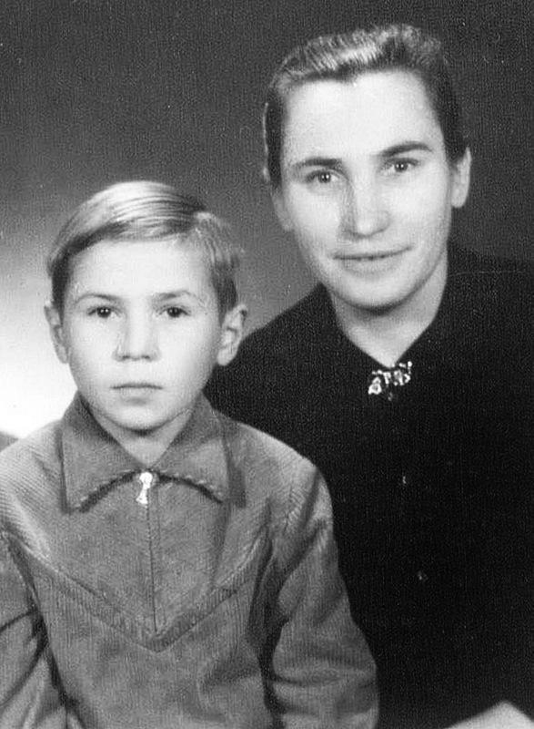 Kartu su mama Irena.